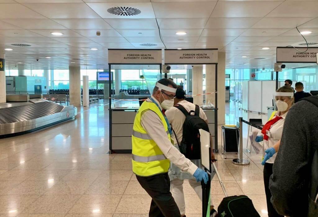 Airport officials