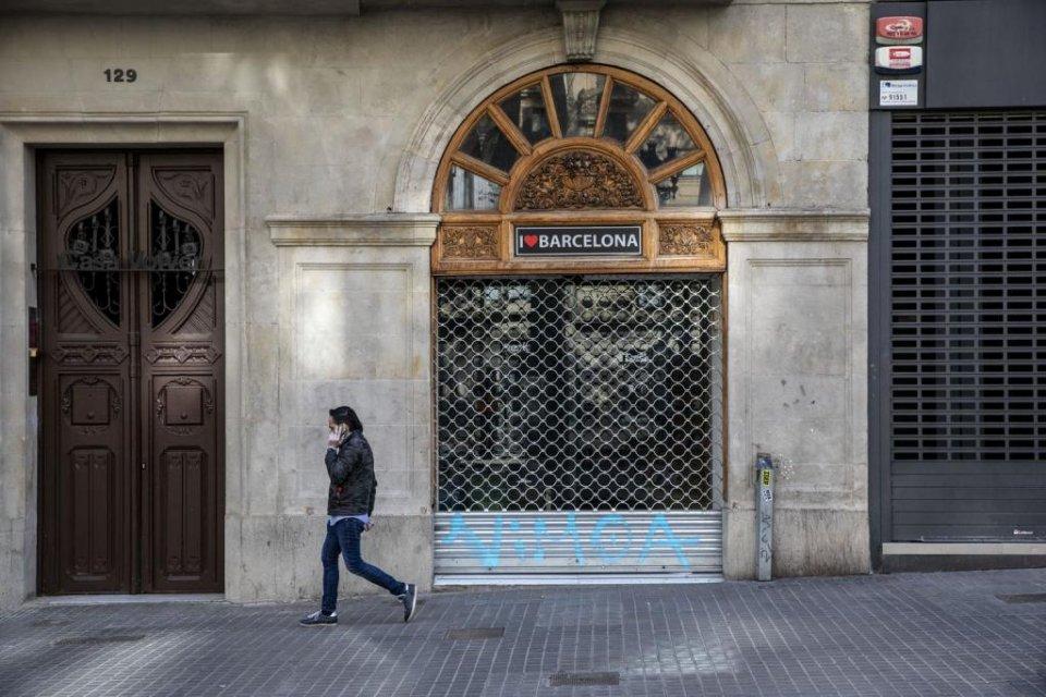 An image of Barcelona