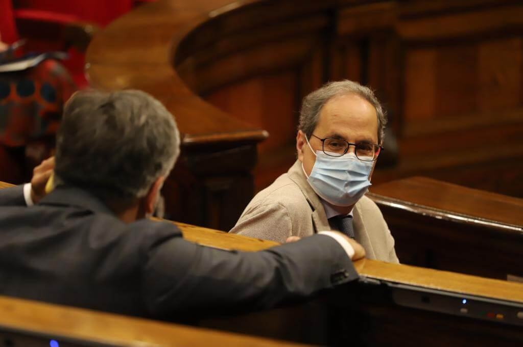 Catalan president Quim Torra