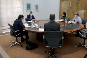 The committee meeting to evaluate the Coronavirus situation in Spain