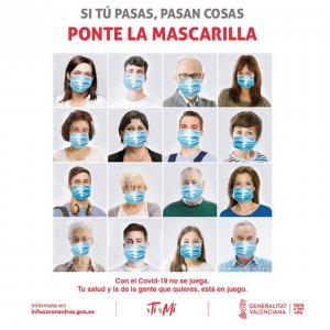 Wear a face mask campaign