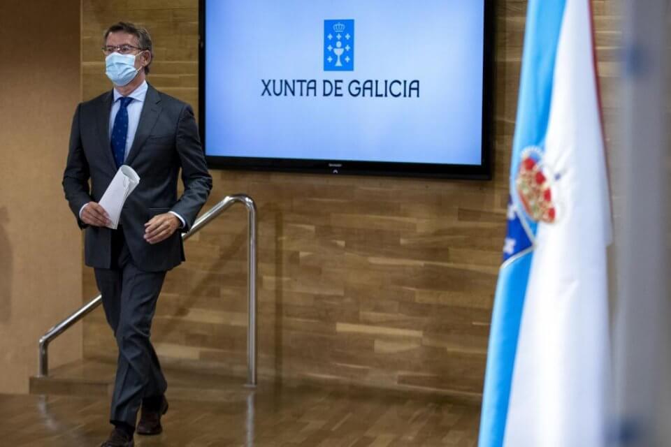 Alberto Núñez Feijóo, president of Galicia