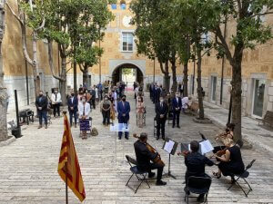 Institutional event in Girona