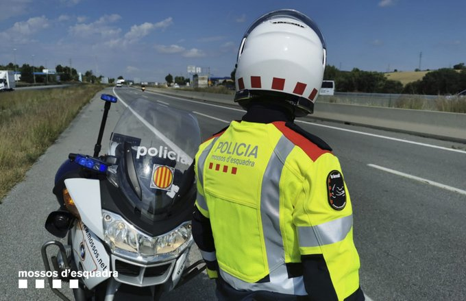 Mossos d'Esquadra traffic control