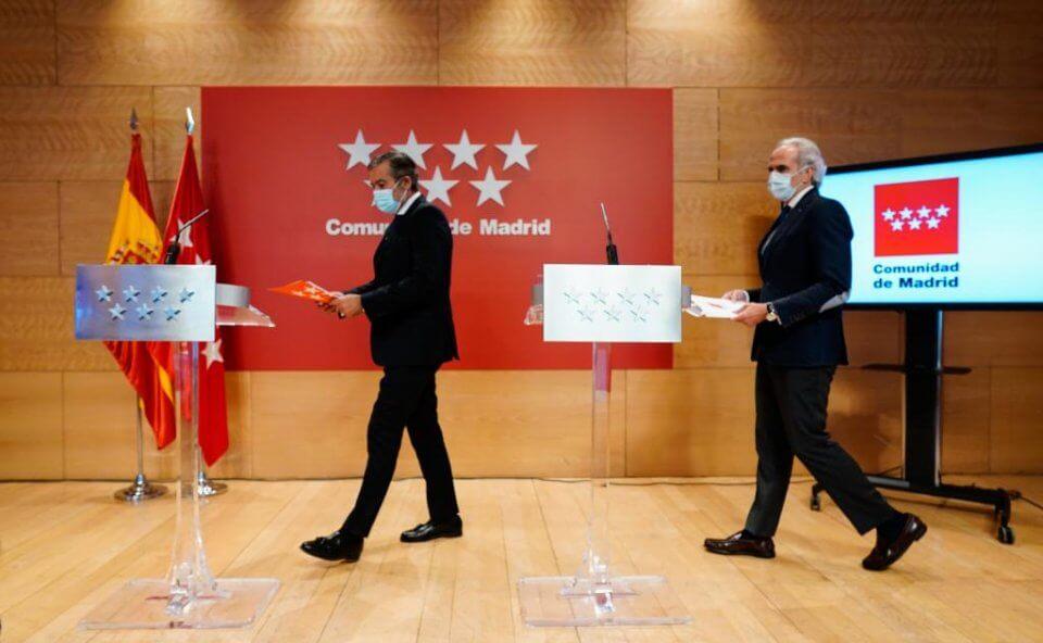 Madrid press conference