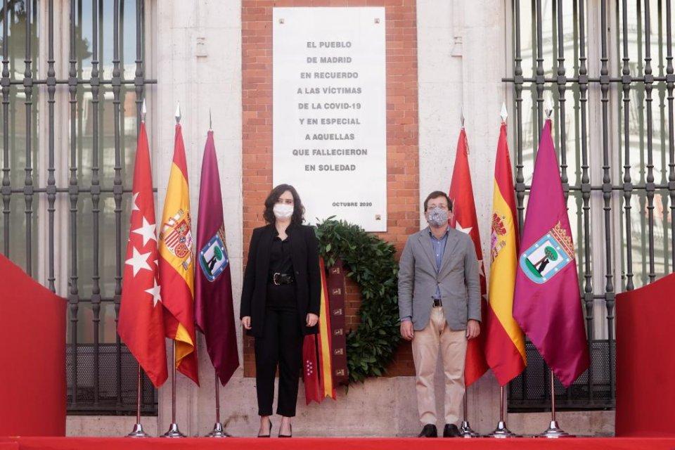 Isabel Díaz Ayuso and José Luis Martínez-Almeida
