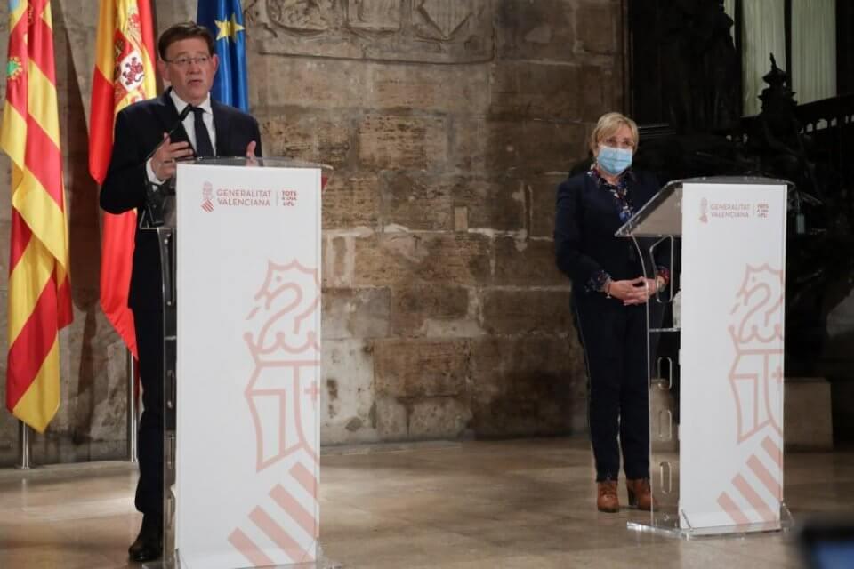 Ximo Puig and Ana Barceló