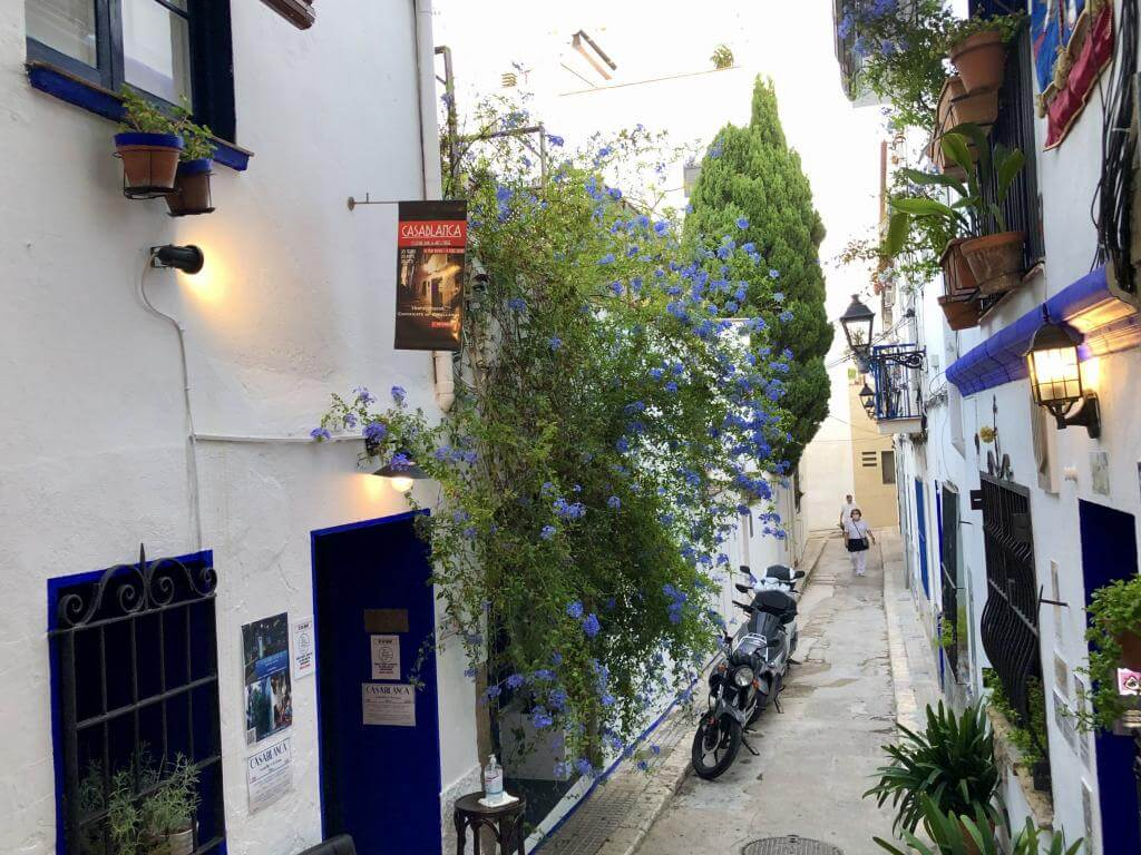 Sitges street