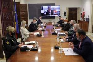 Valencia security meeting
