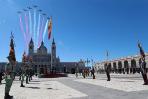 A Spanish Air Force display