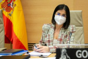 Spain's new Health Minister Carolina Darias