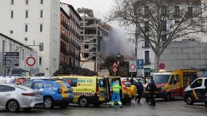 Madrid's Civil Protection and emergency services