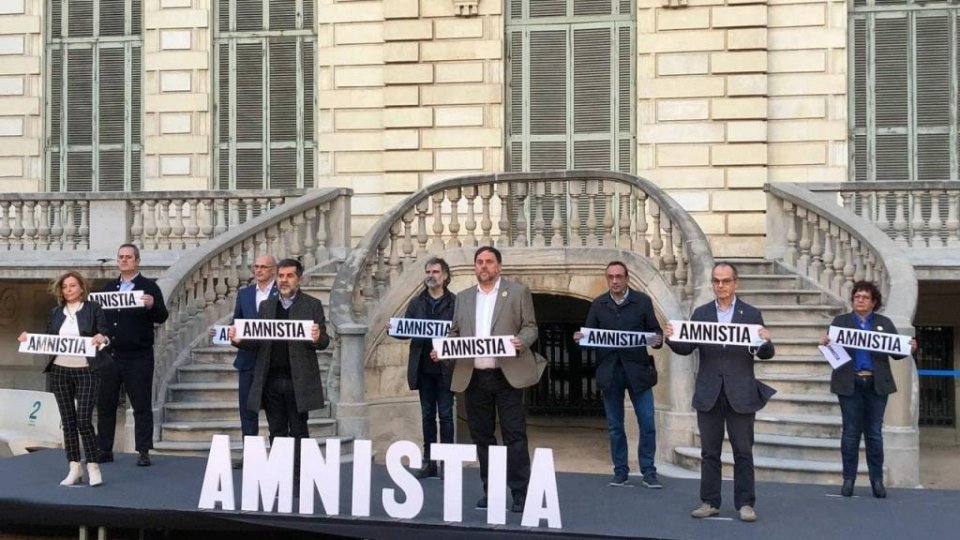 The nine jailed Catalan leaders and activists