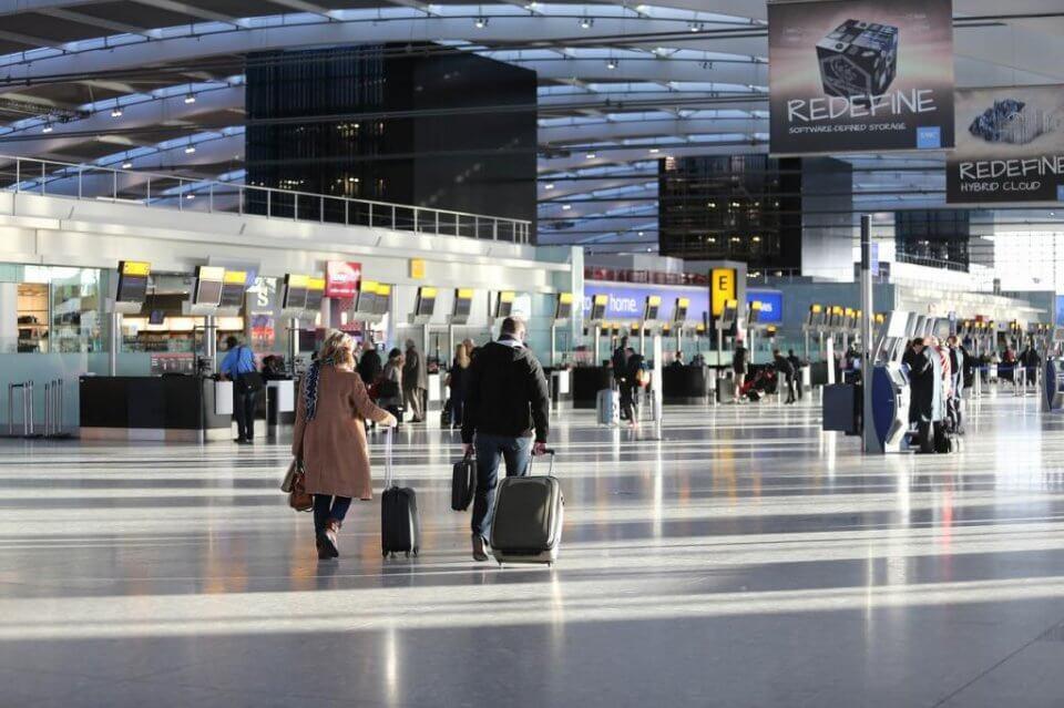 An image of Heathrow Airport. (British Airways)