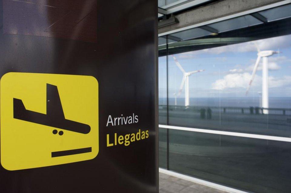 Arrivals library image. (Aena.es)