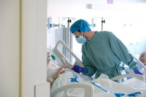 An image from the Bellvitge Hospital in Catalonia