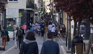 Carrer Sant Francesc in Sitges