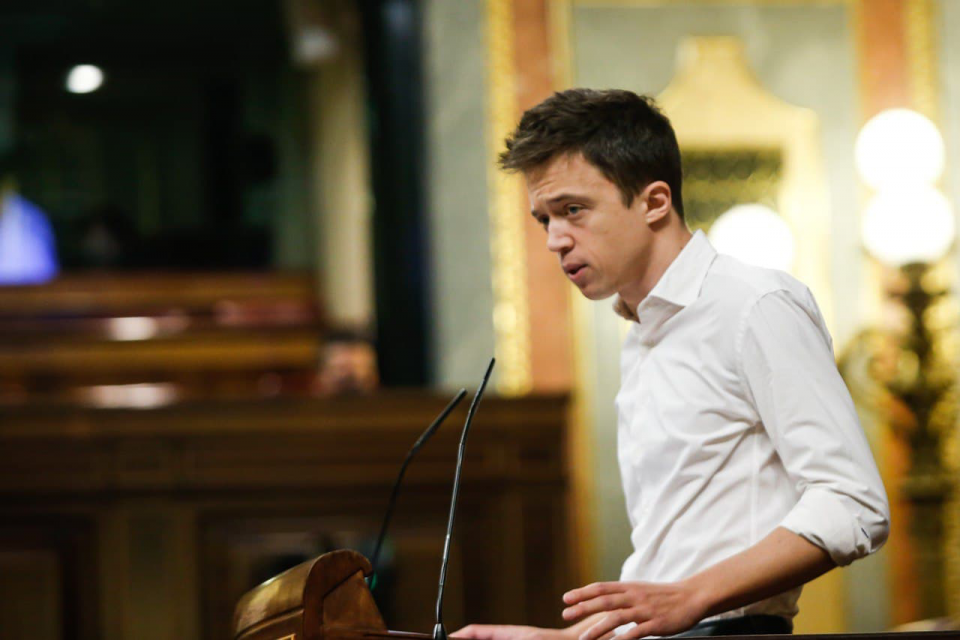 Iñigo Errejón in Spanish Congress