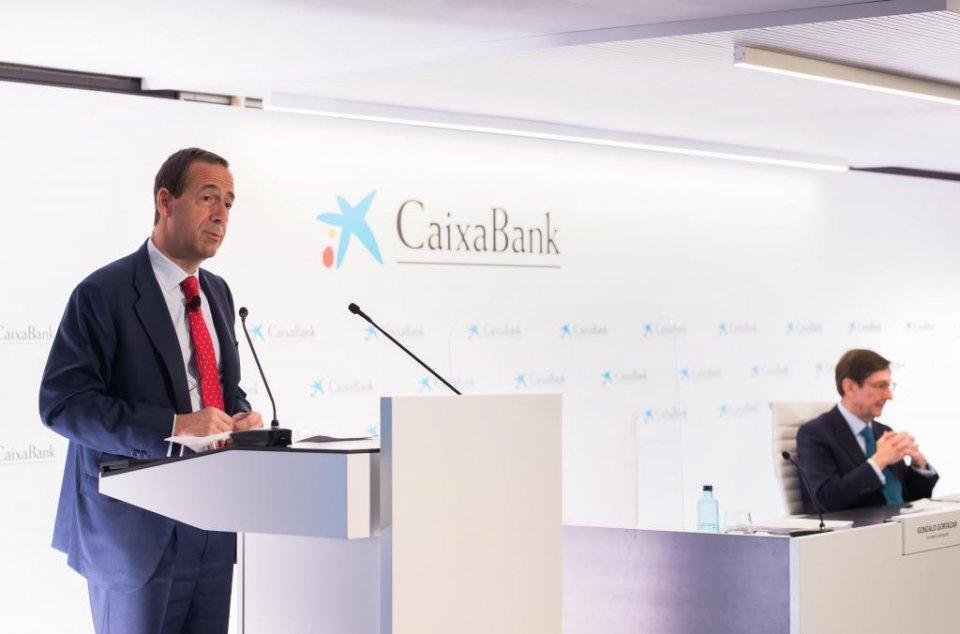 CaixaBank's CEO, Gonzalo Gortázar