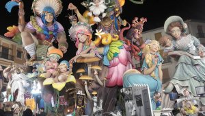 A Fallas monument from 2018.