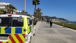 The local police of Sitges