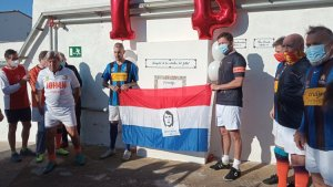 The tribute to Johan Cruyff