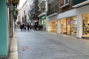 El Carrer Parellades in Sitges
