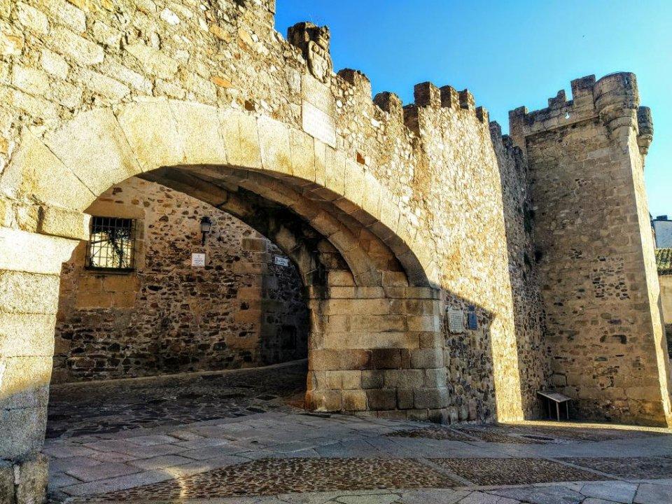 Arco de Estrella, Cáceres.
