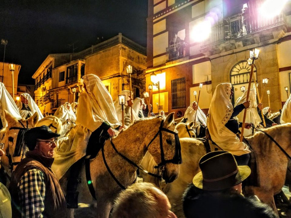 The Encamisá festival in Torrejoncillo, in previous years. (Adam L.Maloney)