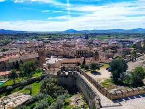 View from Trujillo Castle, in the province of Cáceres. (Adam L.Maloney)