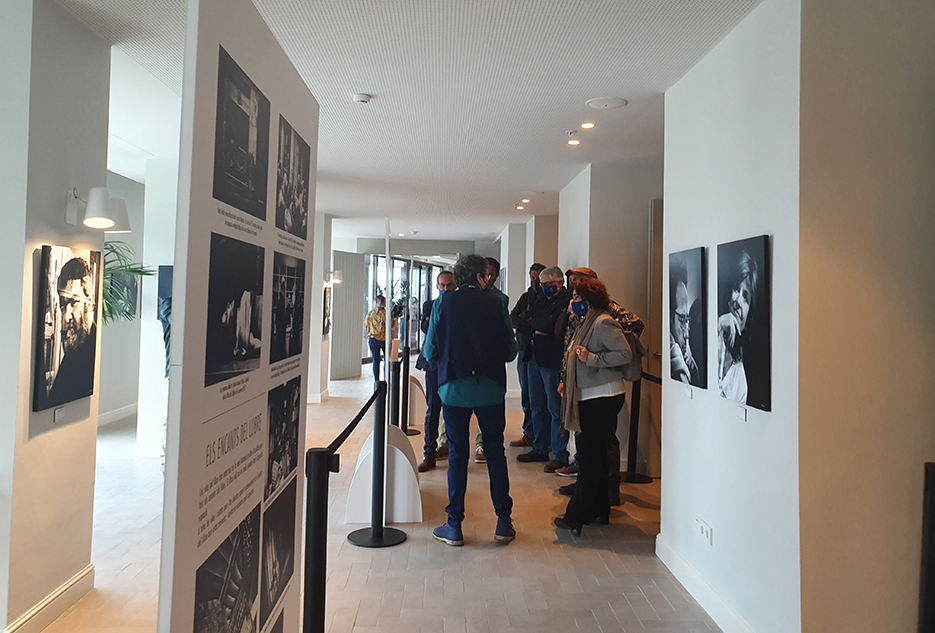 Inauguration of the photographic exhibition at ME Terramar