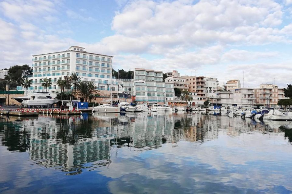 An image of Manacor in Mallorca.