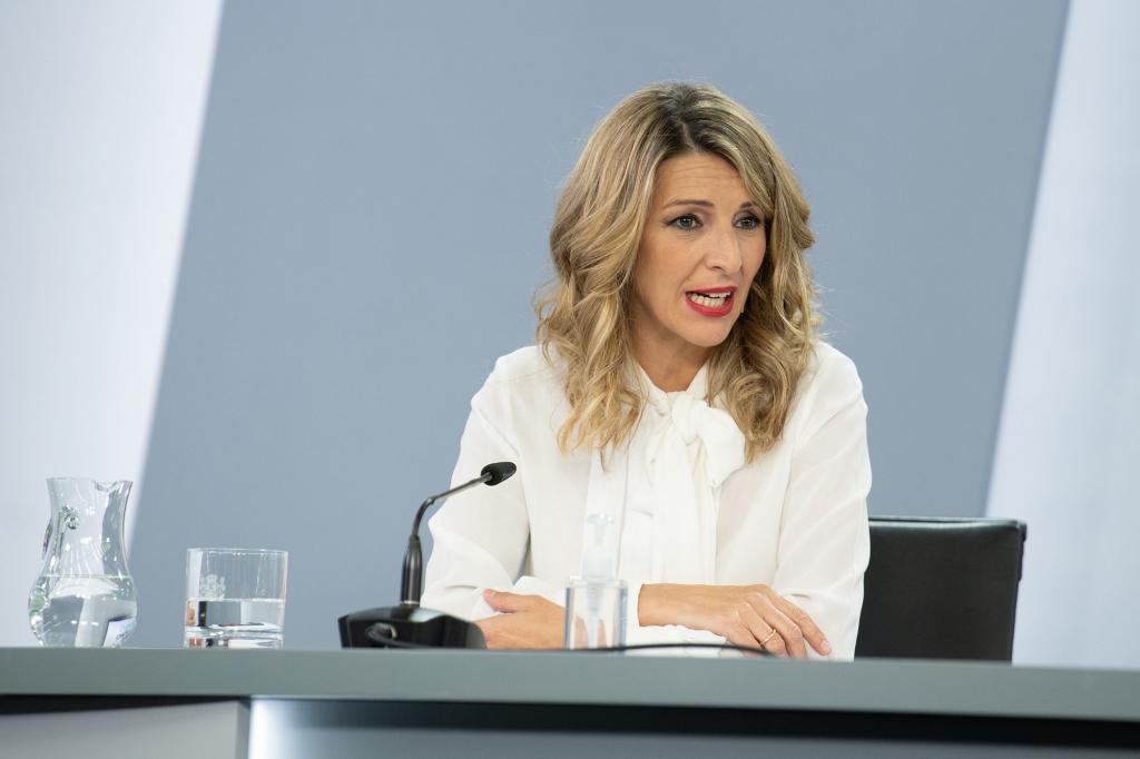 Spanish Labour Minister Yolanda Díaz