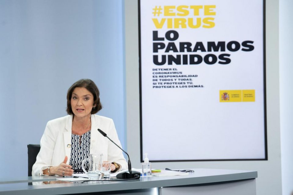 Reyes Maroto, Minister for Industry, Trade & Tourism