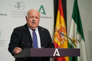 Andalusia's regional health minister Jesús Aguirre