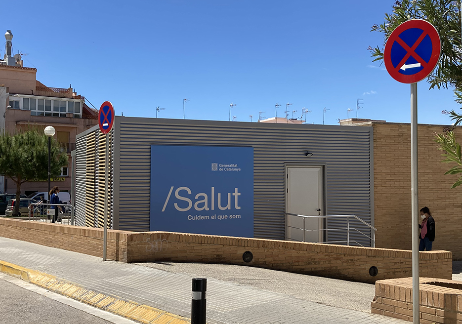 New module at the CAP - Sitges Primary Health Care Centre.