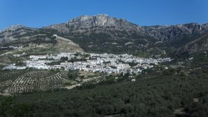 Panoramic view of Cazorla in the province of Jaén.