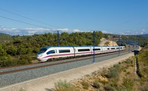 RENFE's high-speed AVE train.