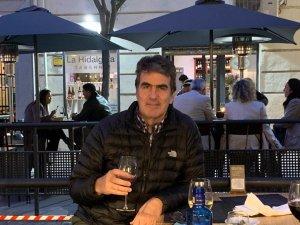 Alejandro Vergara in Madrid.