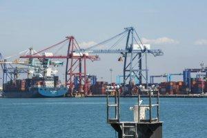 Valencia port (library image)