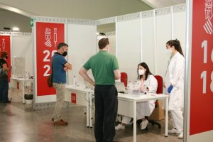 Vaccinations against Covid-19 being carried out in Valencia. (GVA.es)