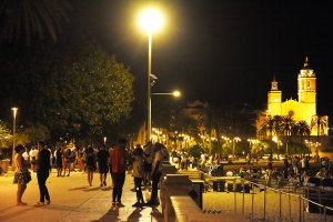 Sitges at the weekend. (L'Eco)
