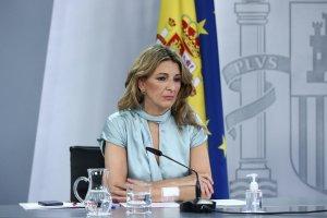 Spain's Labour Minister Yolanda Díaz