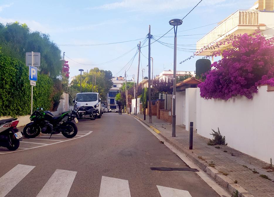 Carrer Divina Pastora in Sitges