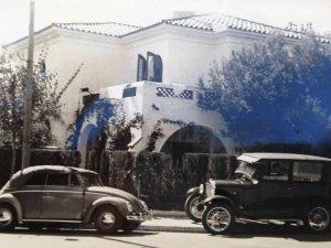 Nuría's grandparents' villa in Vinyet