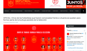 Spanish Football Federation announces 'parallel bubble' squad for Euro 2020.