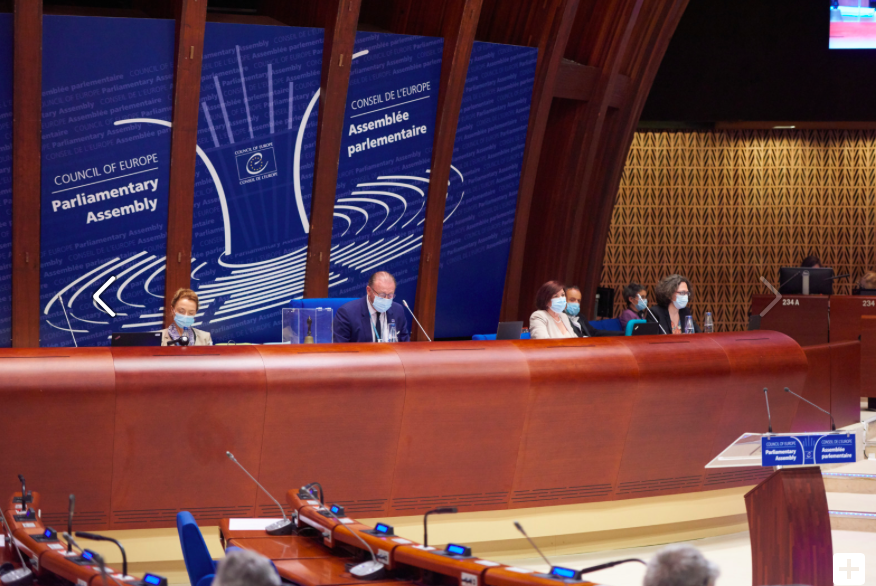 Parliamentary Assembly at the Council of Europe. (COE)