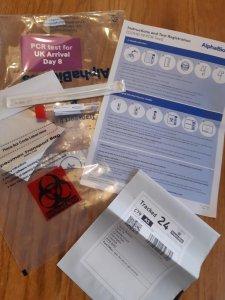 PCR testing kit.