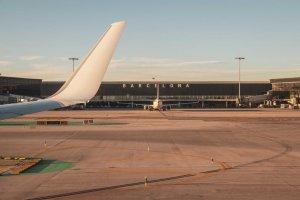Barcelona airport.