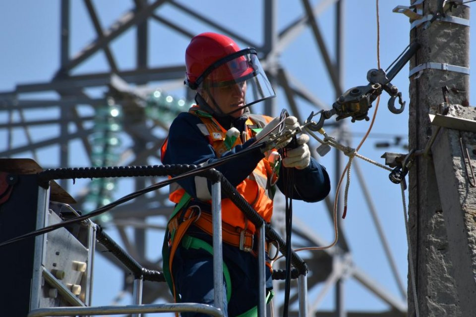 Electricity worker.